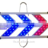 red-blue LED aluminum traffic chevron sign