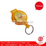 plastic retractable badge holder yoyo with lanyard and card for promotion gift