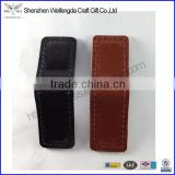 Magnetic money clip leather black brown handcraft high quality gift items                                                                         Quality Choice