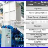 China supplier Scrap Fridge recycling line, waste refrigerator recycling, refrigerant recycling