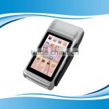 Android smart touch pos terminal handheld with thermal printer contactless card reader GC068