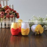 LED night light creative bedside lamp plugged sensor light cute egg shape LED night light