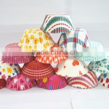 Food Grade Greaseproof Paper Cupcake Liners/ SGS Certificated Cake Cup / Bakery Packaging