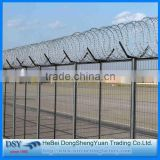 Trade Assurance China Supplier stainless steel single coils straight line Concertina hot dipped galvanized Razor Barbed Wire