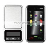 New Designed Digital Cellphone Pocket Scale 0.01g Mini Portable Jewelry Scale LCD Display