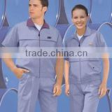 working uniform for industry,unisex workwear,light blue suit working clothes,guangzhou uniform