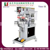 Model JN-CP2-200S Two Color Closed Ink Cup Pad Printing Machine with Shuttle Worktable