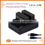 Dual 18650 Wall Camcorder Video Camera Digital Battery Charger 18650 battery charger for Gopro