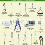 Obstetric and Dehorning and Equine Equipments, Veterinary instruments and Farrier tools, equestrian supplies