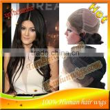 Unprocessed nice Wavy 100%Brazilian human hair Lace Front Wig&Full Lace wig for black women baby hair around the perimeter