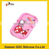 New style cartoon phone silicone magnetic rubber mat