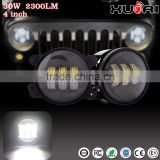 High power 4 Inch 30W Round High/Low car led headlight for Jee p Wrangler/ Motorcycle, China 4x4 accessories