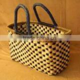 Woven Seagrass Shopping Basket