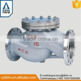 High quality flanged swing GB lift stainless steel natural gas check valve dn80                                                                                                         Supplier's Choice