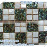 Abalone / paua mother of pearl paper mosaic tiles shell sheet shell laminate