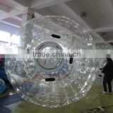 roll inside inflatable ball for sale/ inflatable zorb ball