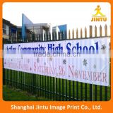 2016 Outdoor wall advertising pvc vinyl banner, vinyl sign banner with customized printing
