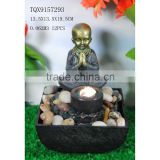 High quality polyresin indoor fountain buddha water fountain                                                                         Quality Choice