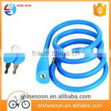 Hot Sale Fashion And Trendy Bicycle Folding Cable Lock / Bike Solid Locks