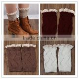 Wholesale girls boot socks,bulk children's leg warmer,lace boot cuff socks,leg warm socks,leg warmer
