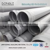 ISO, GB/T standard upvc pipe underground water supply pipe 180mm