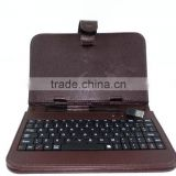 Keyboard cover for ipad 5 professional factory supply 3d case for ipad T025 leather PU case for ipad air
