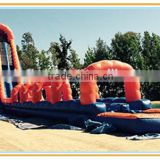 big water slide inflatable outdoor water slide with swimming pool for sale, inflatable slide lake water toy