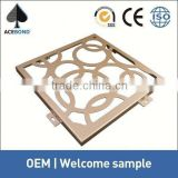 wall panel with sound insulation product copper clad aluminum sheet