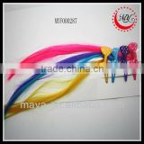 Beautiful novelty wig for sale hair extension clip(approved by BV)