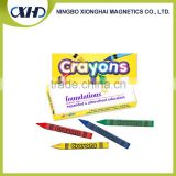 Full color printing fancy 9.5cm *3.8cm *1cm 4 colors printing Non-Toxic wax crayons                                                                         Quality Choice