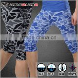 2015 new wild leopard comfortable mens gym shorts clothing MA35
