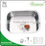 HOUSESTAR CUPC sink factory undermount single bowl stainless steel cast iron kitchen sink tensile sink pedicure sink 5945A