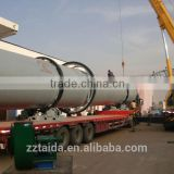 Oil palm fiber rotary dryer/oil palm fiber dryers/oil palm fiber drying equipment from Taida