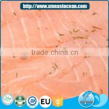 Wholesale healthy delicious frozen fish smoked salmon with vanilla