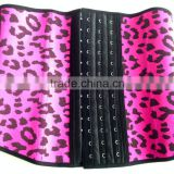 Womens Leopard Underbust Latex Body Shapewar taille Cincher