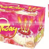 Stick birthday candles / decorative candles for birthday cake 30 Sec Birthday Candle fireworks