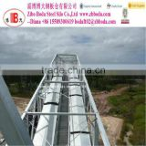Grain belt conveyor / chain conveyor / elevator / catwalk / support tower used for grain storage steel silo bins