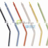 Colorful Disposable Dental Spray Nozzles Tips For three-Way Air Water Syringe tips,dental supply