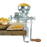 Manual Grain Grinder Table Clamp Corn Mill Low Hopper Cast Iron