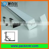 90 degrees V shape aluminium profile for LED corner lights 16*16mm