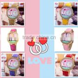 Cute Design Hot Fashion Korea Mini Polymer Clay Trendy Girl Watch Wholesale