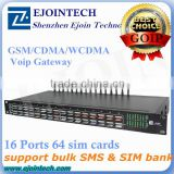 Ejointech ACOM516-64 free SMS box 16 port 64 cards CDMA voip gateway