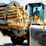 VOLVO Wheel Loader 2.5M3 Bucket For L90F Wheel Loader, Log Grapple/Grass Grapple/Snow Plow/Pallet Fork/Dozer Blade For L90F