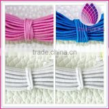 High quality hot sell larger wholesale colored elastic nylon material cord