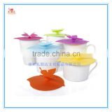 Premium Silicone Suction Seal lids on Cups & Bowls & Pots, best silicone covers, Silicone Rubber Coffee Cup Lid