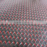 Colorized Metallic thread fabric Carbon fiber mixed Fabric