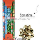 Souvenir Printed Wholesale Roll Christmas Gift Wrapping Paper Set