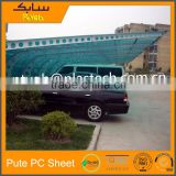 lightweight roofing materials sun top cellular polycarbonate bus shelter carport roofing sheet