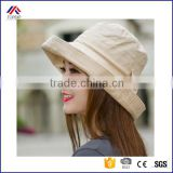 Women Bowknot Sun Hat, Design Summer Beach Fisherman Hats, Anti-UV Sun Protection Fishing Bucket Hat