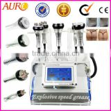 40K Cavitation Vacuum 5 in 1 multipolar RF headset Strong slimming Spa Beauty Machine Au-46B
